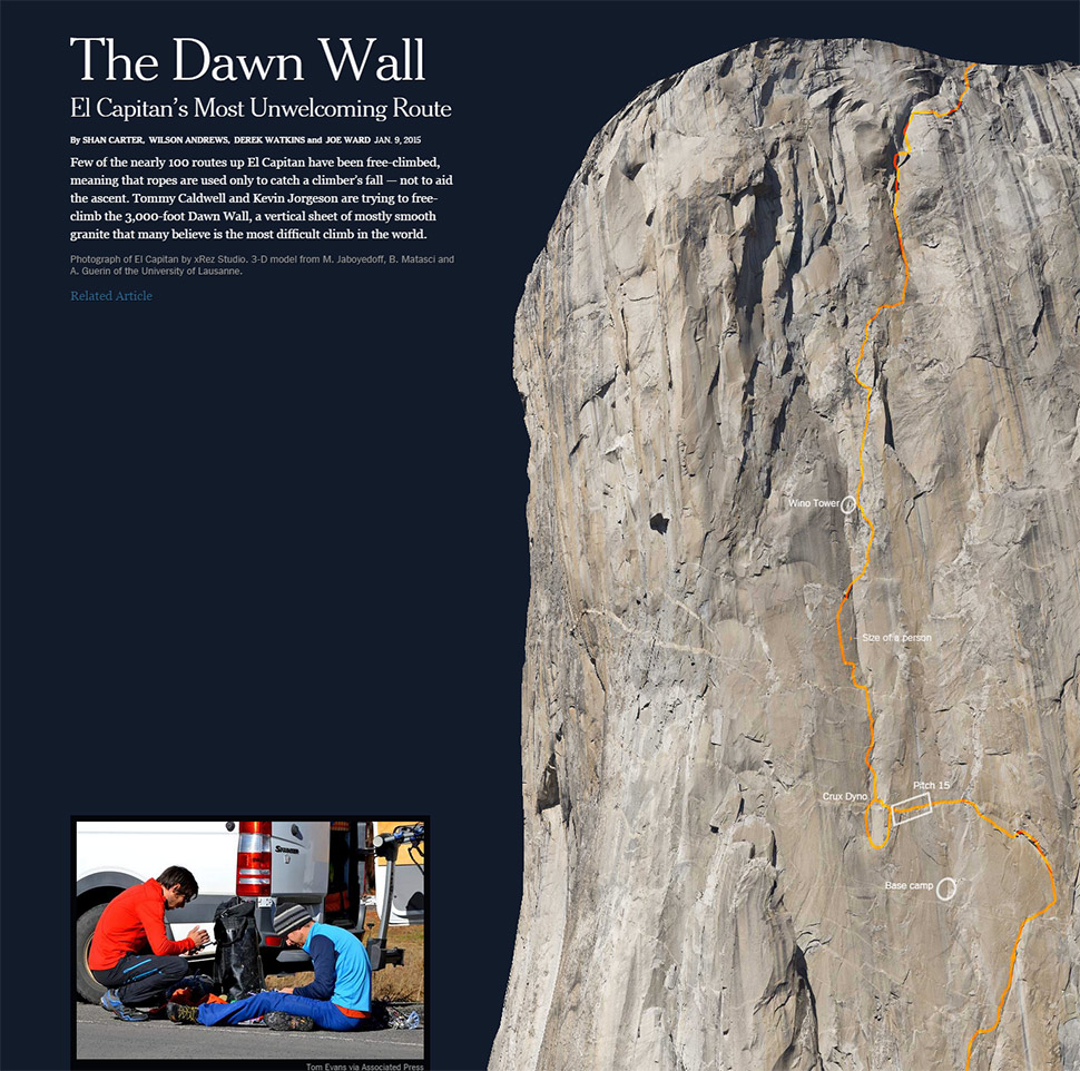 The Dawn Wall Interactive
